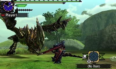 Styl boje v Monster Hunter Generations a nové obrázky 122428
