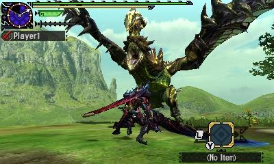 Styl boje v Monster Hunter Generations a nové obrázky 122430