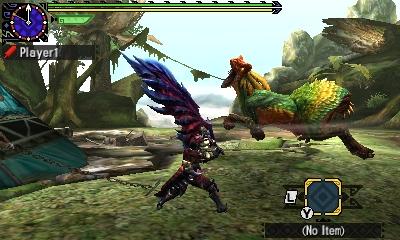 Styl boje v Monster Hunter Generations a nové obrázky 122432