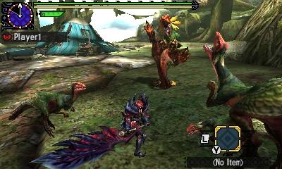 Styl boje v Monster Hunter Generations a nové obrázky 122434
