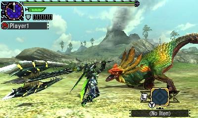 Styl boje v Monster Hunter Generations a nové obrázky 122435