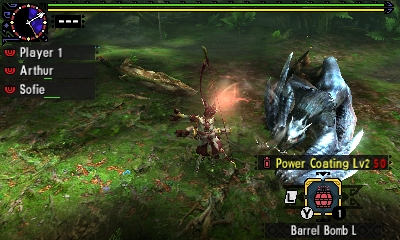 Styl boje v Monster Hunter Generations a nové obrázky 122437