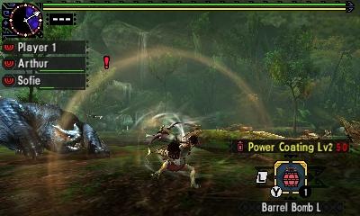 Styl boje v Monster Hunter Generations a nové obrázky 122438
