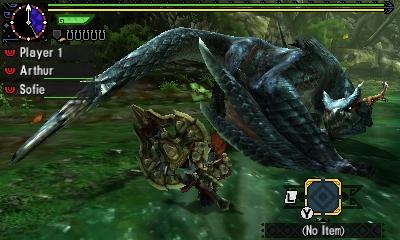 Styl boje v Monster Hunter Generations a nové obrázky 122439