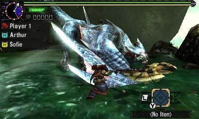 Styl boje v Monster Hunter Generations a nové obrázky 122440