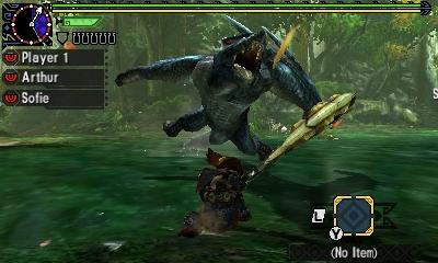 Styl boje v Monster Hunter Generations a nové obrázky 122441