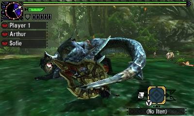 Styl boje v Monster Hunter Generations a nové obrázky 122442