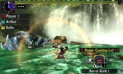 Styl boje v Monster Hunter Generations a nové obrázky 122443