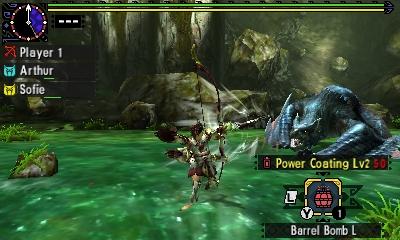 Styl boje v Monster Hunter Generations a nové obrázky 122444