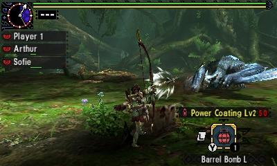 Styl boje v Monster Hunter Generations a nové obrázky 122445
