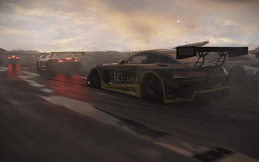 Hráči Project Cars dostali zdarma Mercedes-AMG GT3 122449
