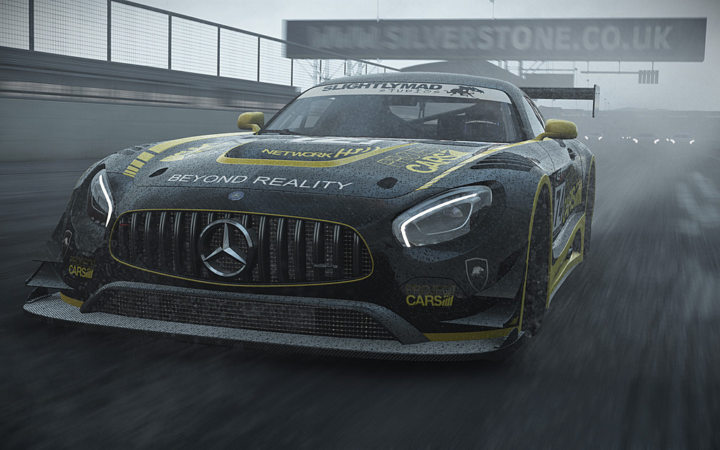 Hráči Project Cars dostali zdarma Mercedes-AMG GT3 122450
