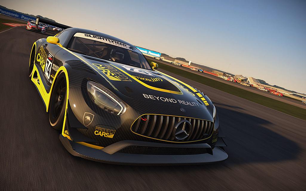 Hráči Project Cars dostali zdarma Mercedes-AMG GT3 122451