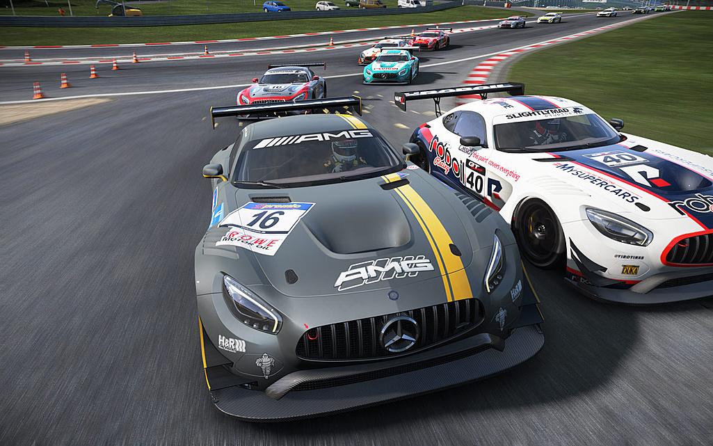 Hráči Project Cars dostali zdarma Mercedes-AMG GT3 122452