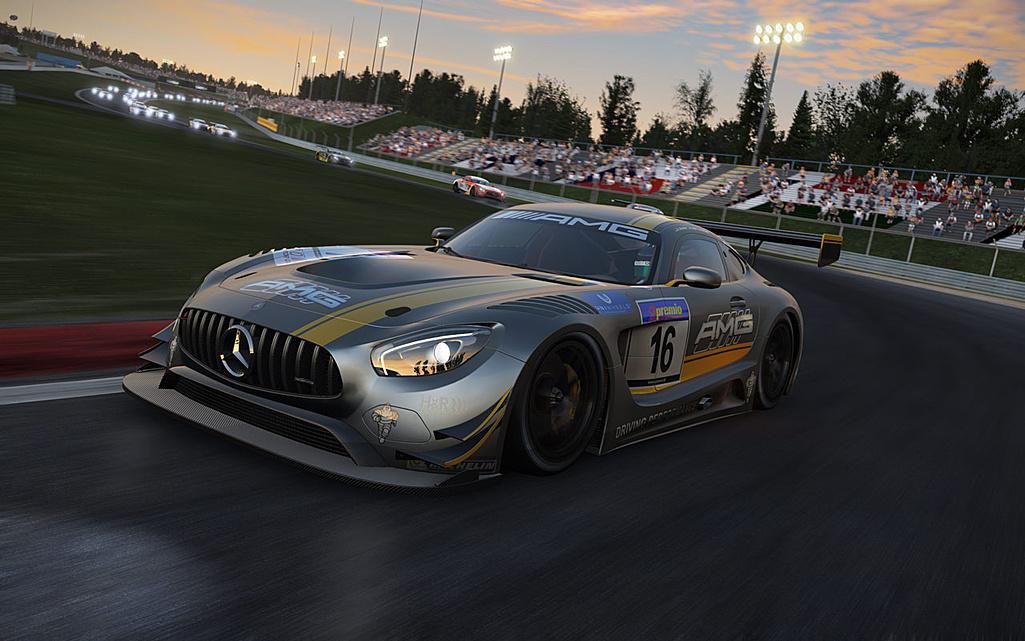 Hráči Project Cars dostali zdarma Mercedes-AMG GT3 122453