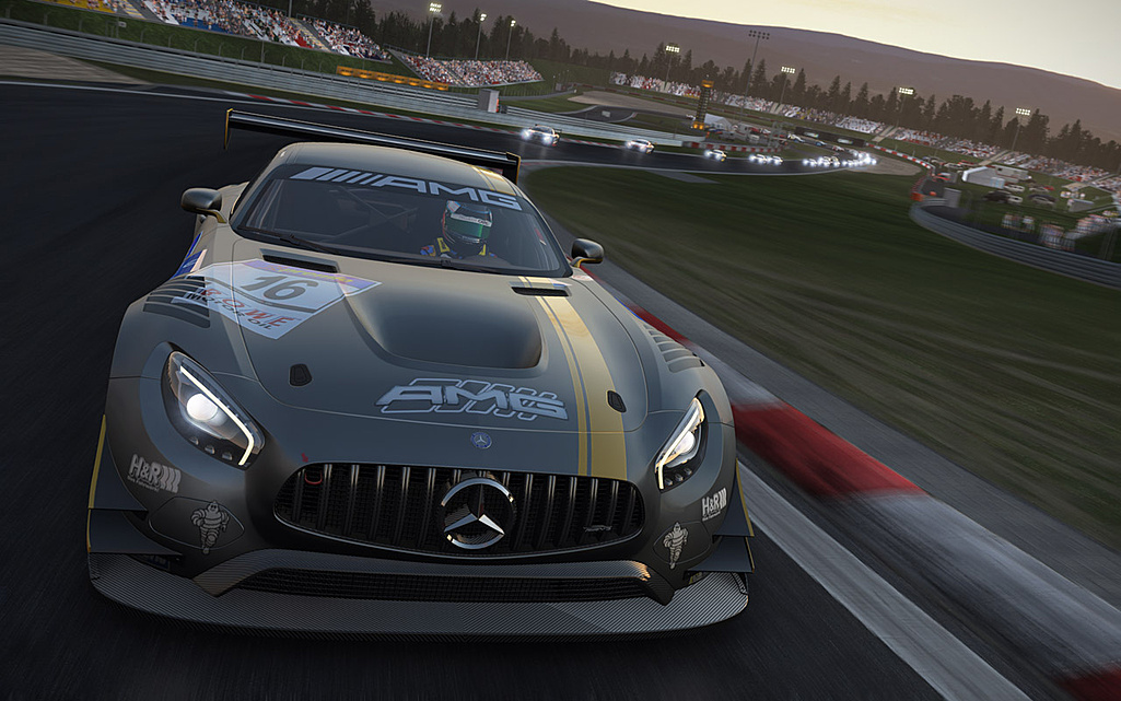 Hráči Project Cars dostali zdarma Mercedes-AMG GT3 122455
