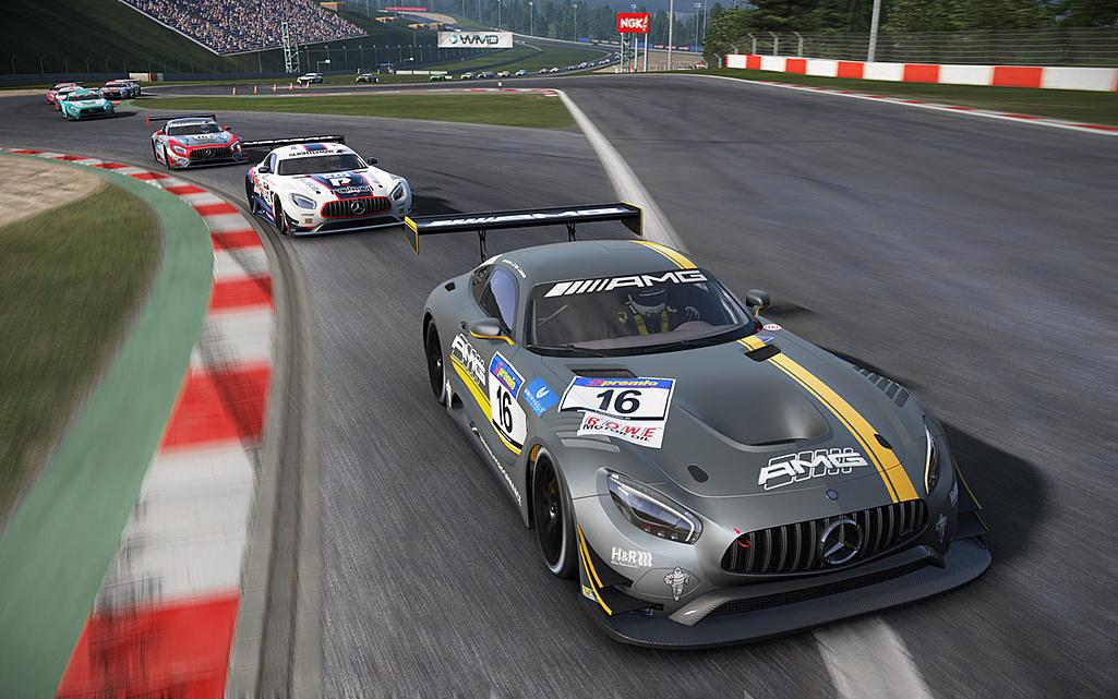 Hráči Project Cars dostali zdarma Mercedes-AMG GT3 122456