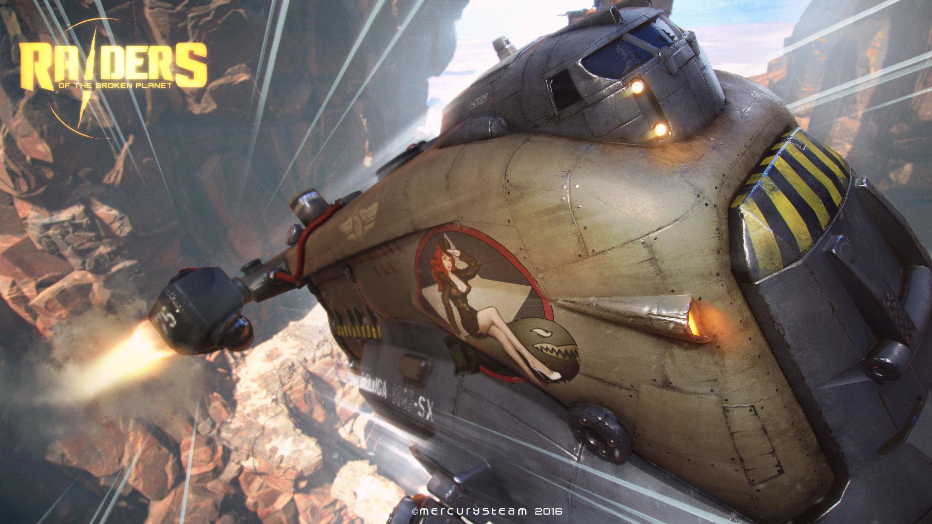 MercurySteam ukazují multiplayerovou akci Raiders of the Broken Planet 122531