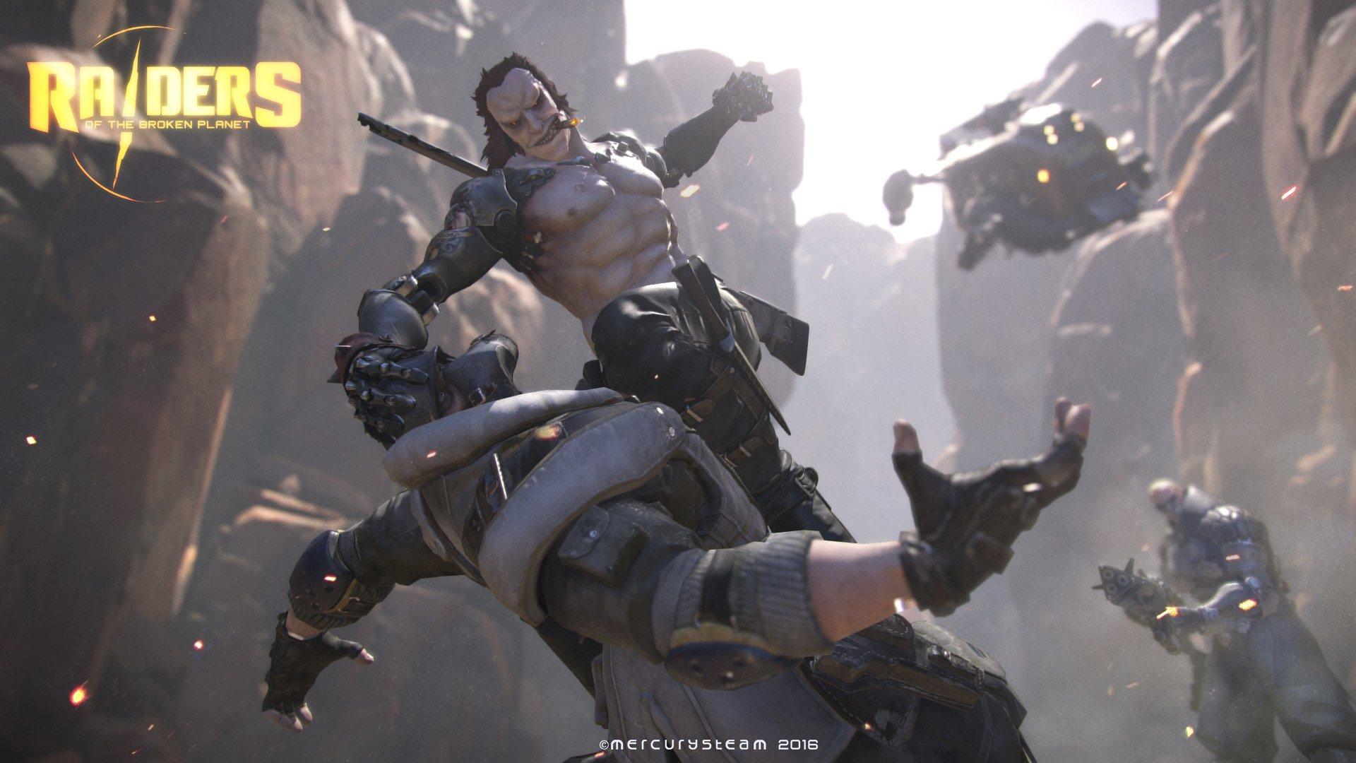 MercurySteam ukazují multiplayerovou akci Raiders of the Broken Planet 122532
