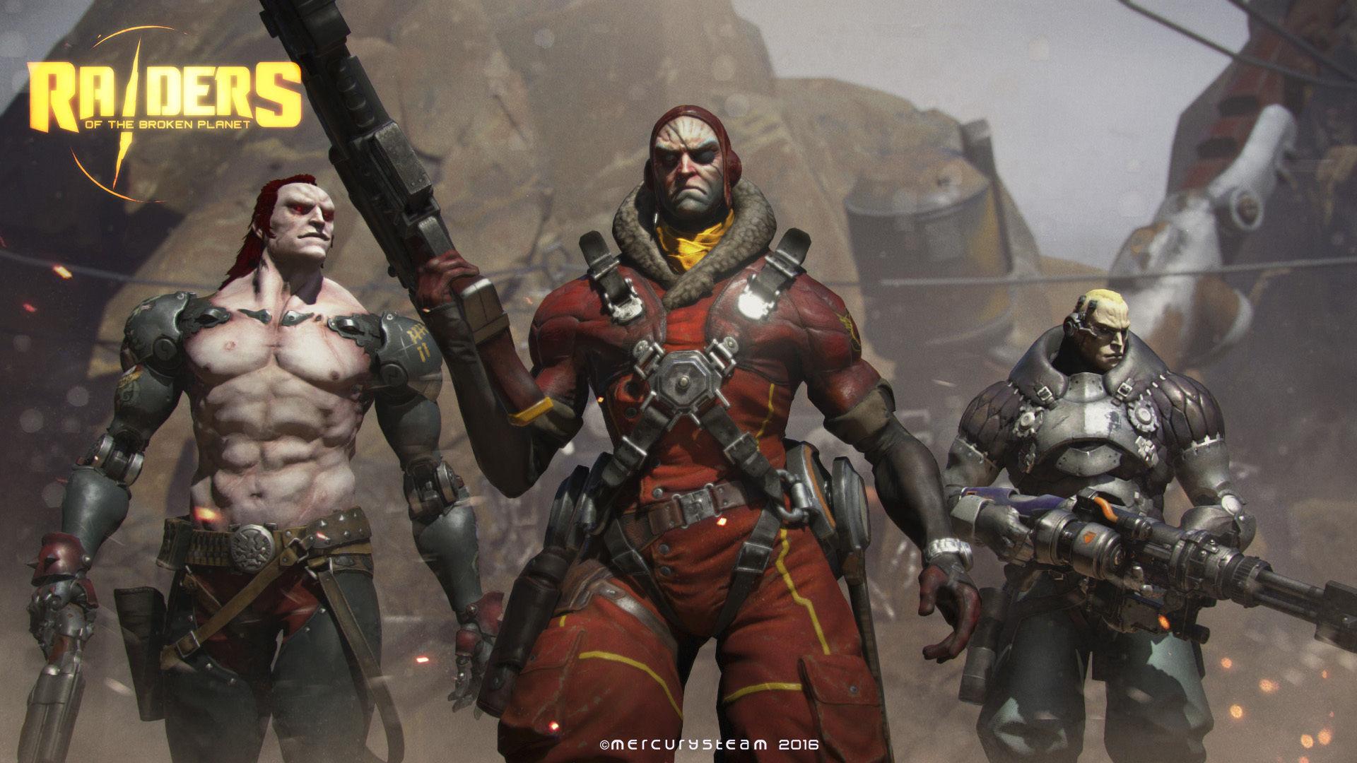MercurySteam ukazují multiplayerovou akci Raiders of the Broken Planet 122534