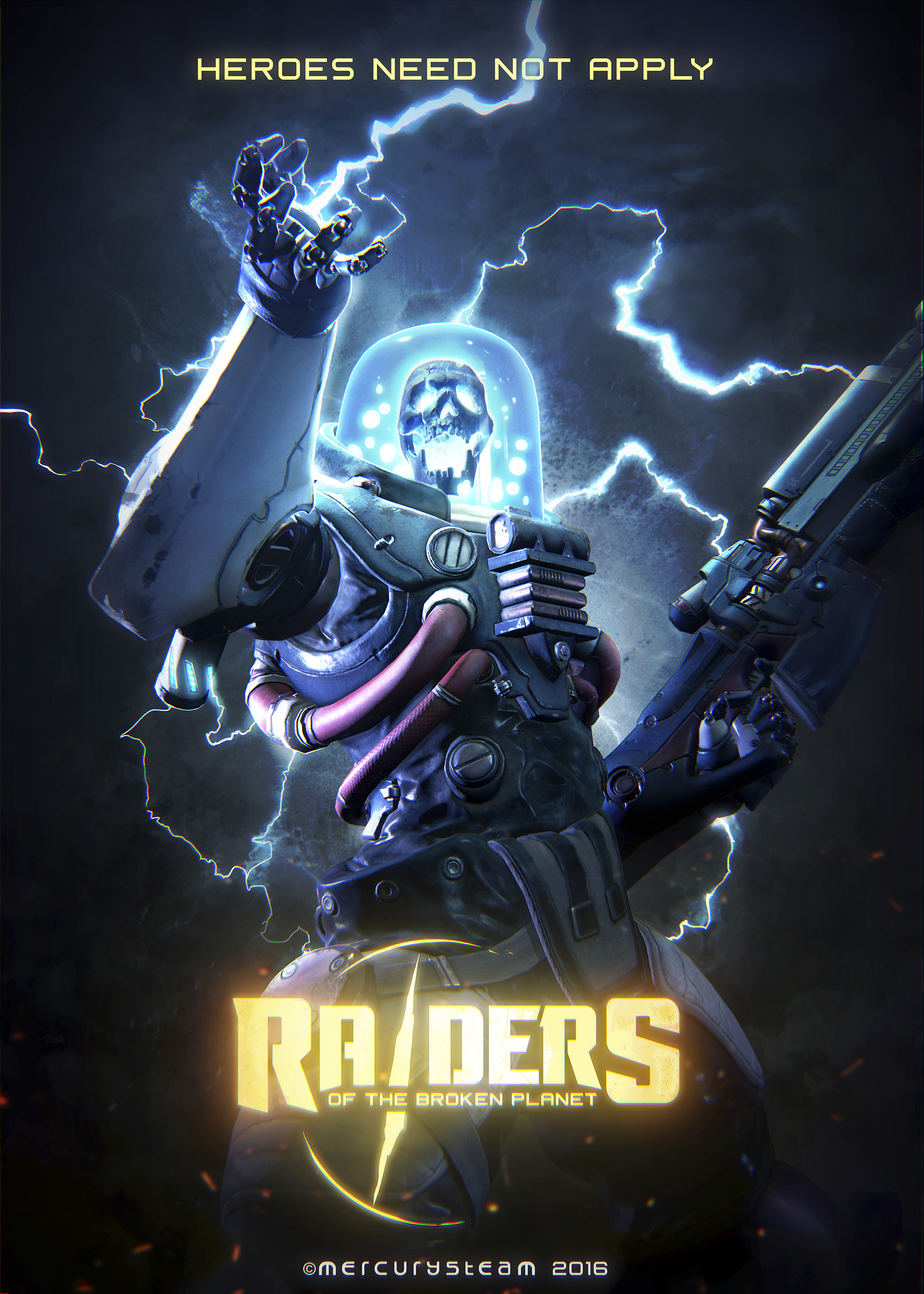MercurySteam ukazují multiplayerovou akci Raiders of the Broken Planet 122535