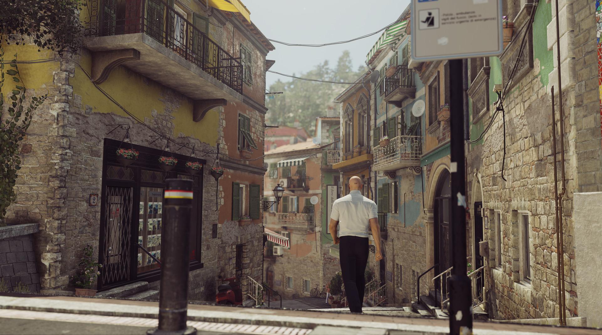 Italské město Sapienza z druhé epizody Hitmana 122558