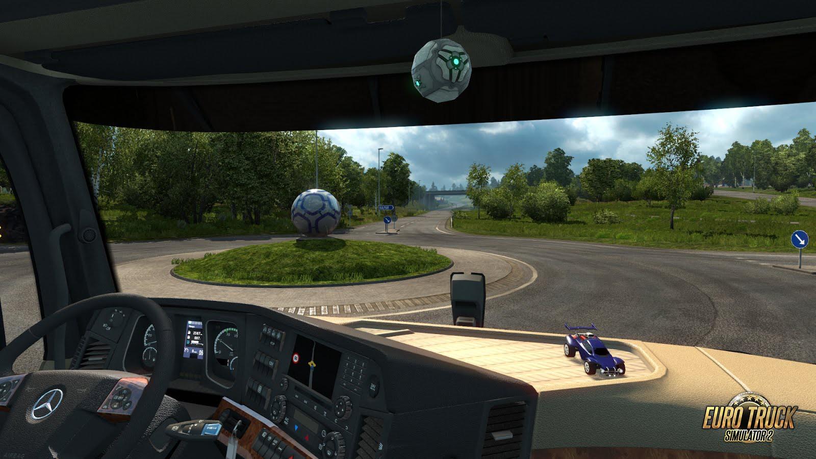 Spolupráce mezi hrami Rocket League a Euro Truck Simulator 2 122668