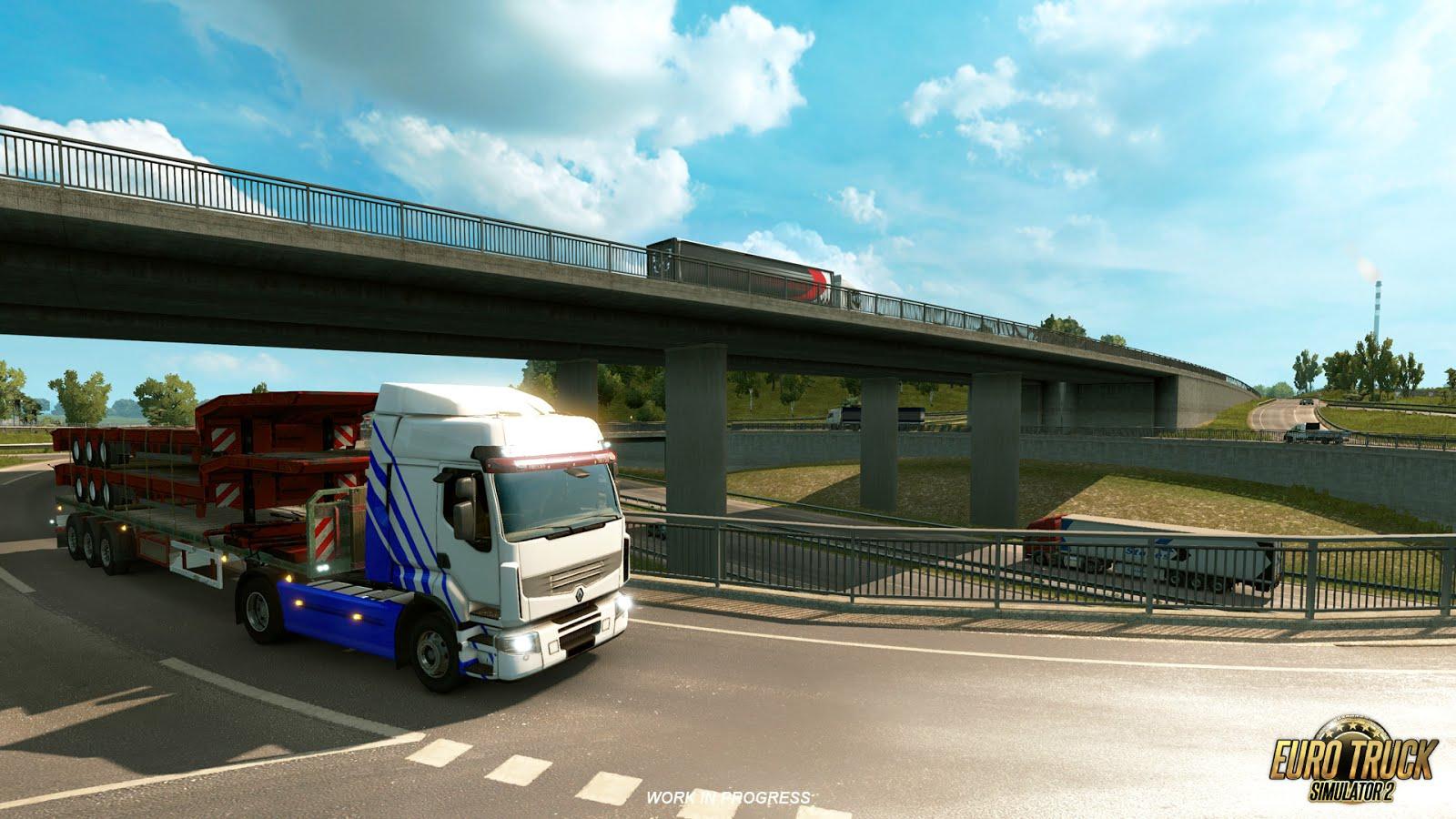 Rozšíření mapy pro American a Euro Truck Simulator 122719