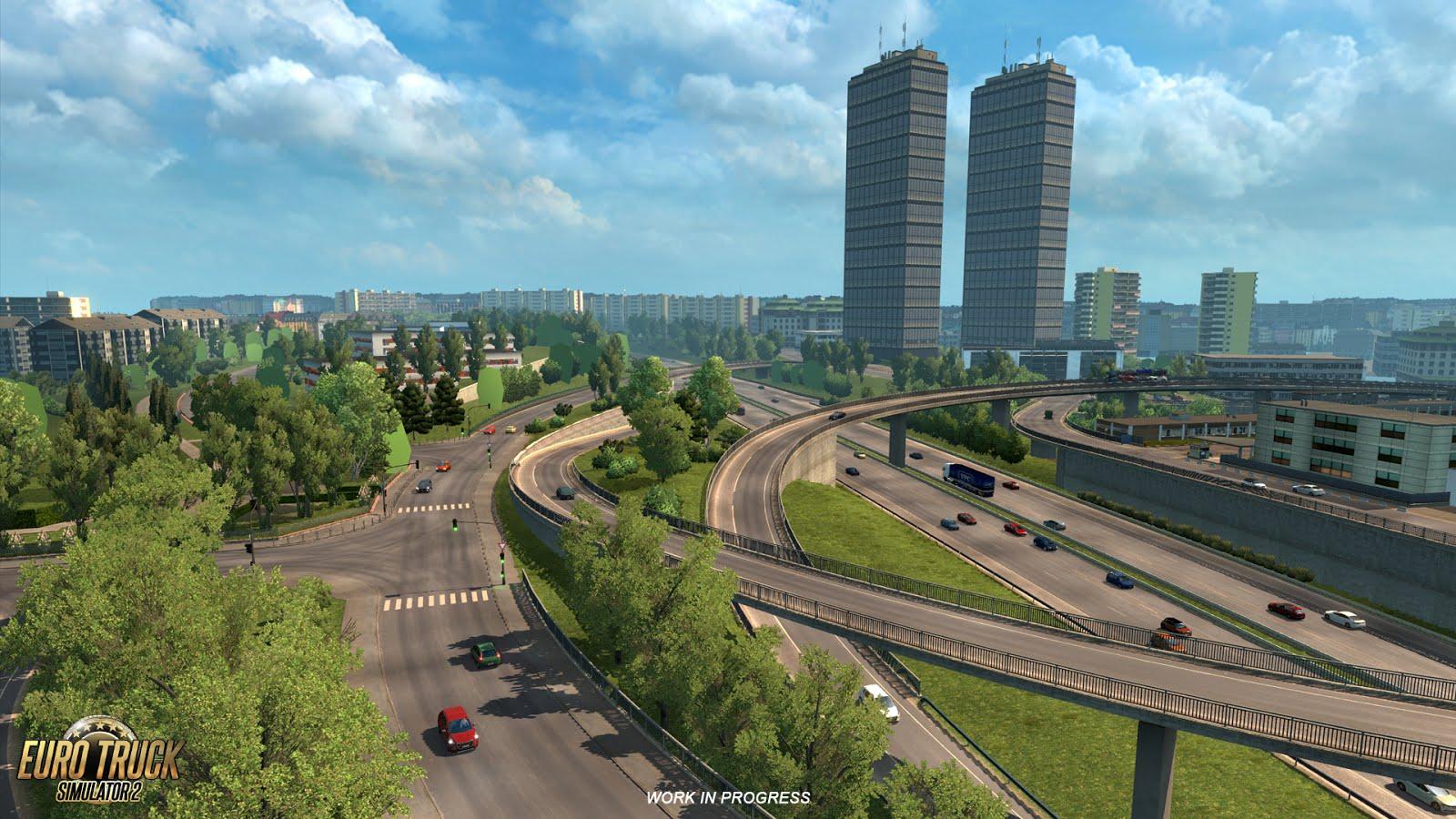 Rozšíření mapy pro American a Euro Truck Simulator 122720