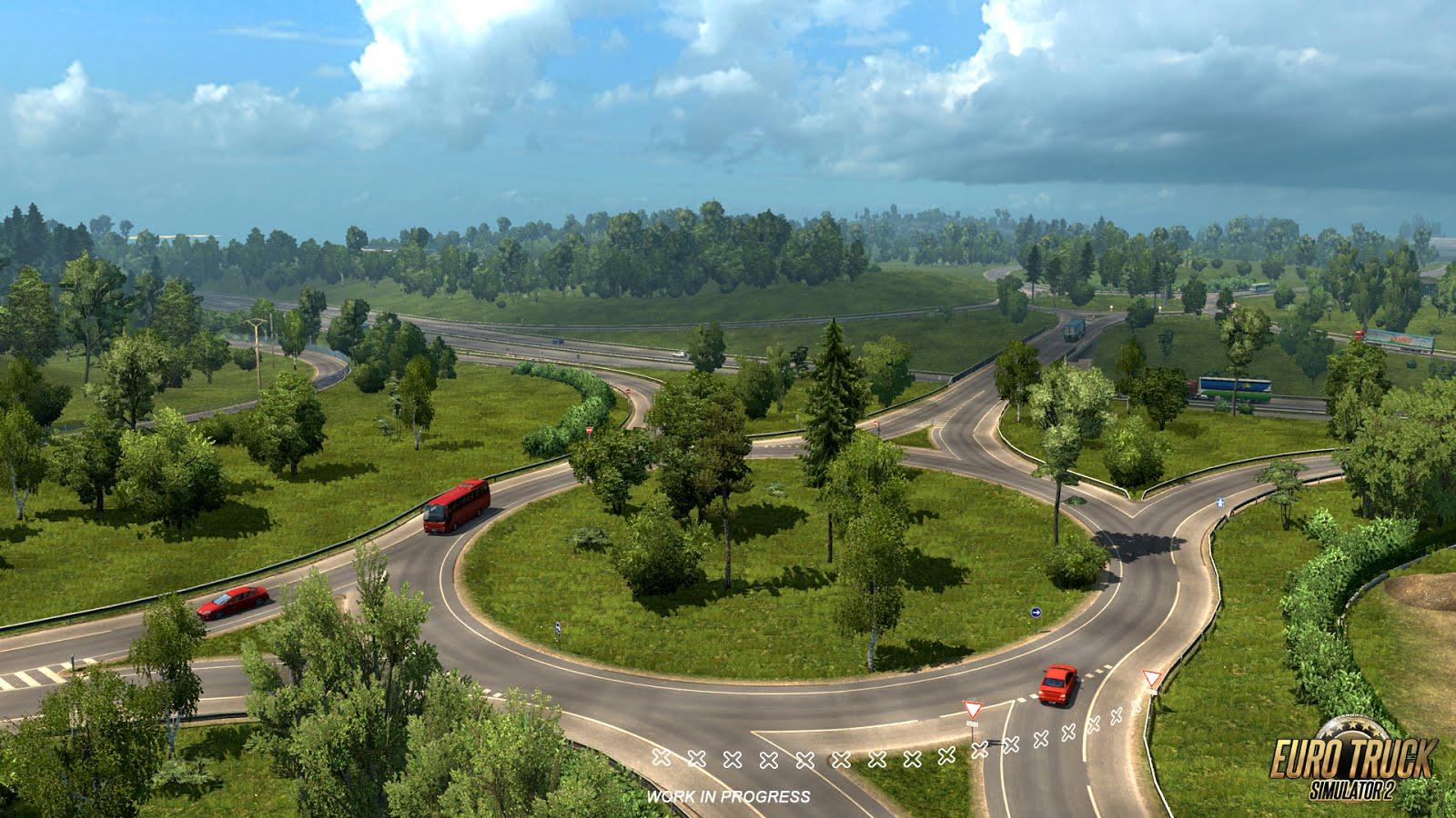 Rozšíření mapy pro American a Euro Truck Simulator 122721