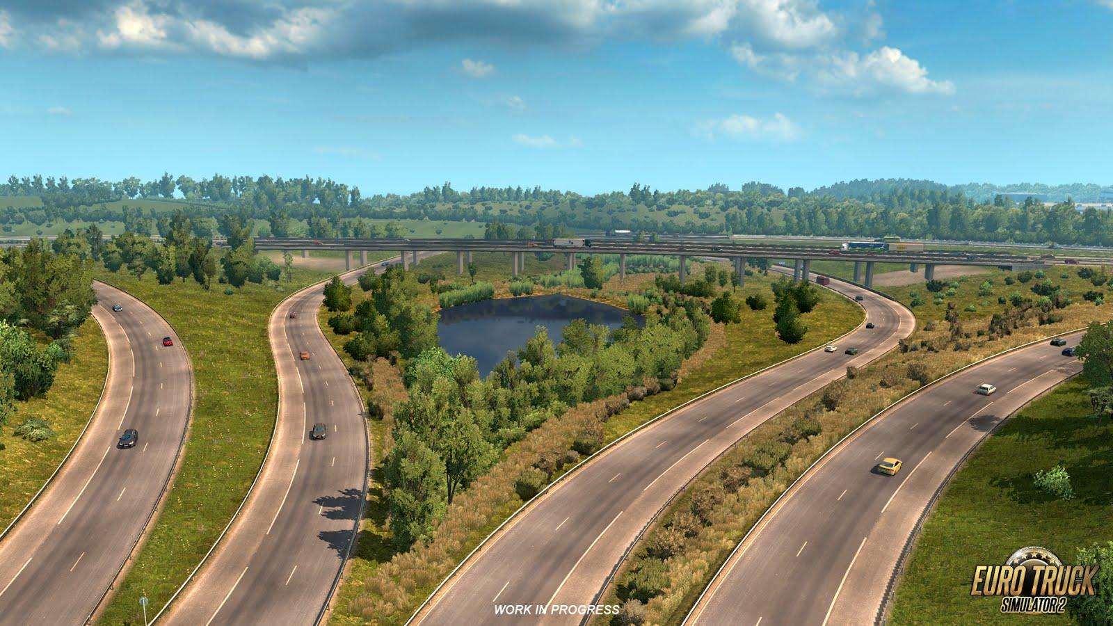 Rozšíření mapy pro American a Euro Truck Simulator 122722