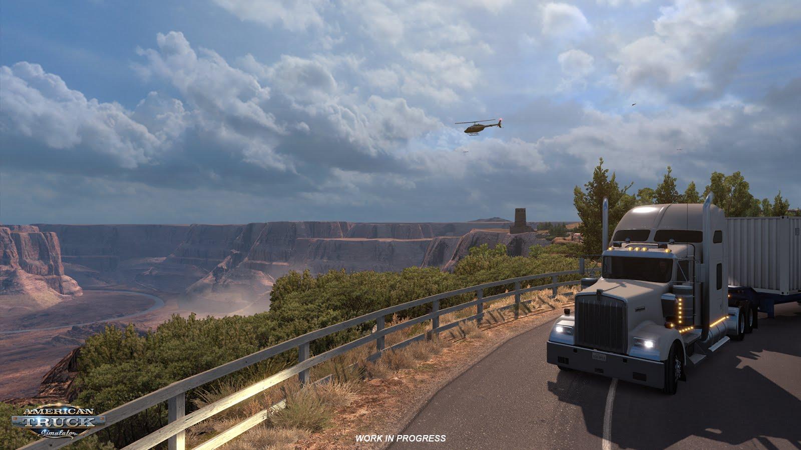 Rozšíření mapy pro American a Euro Truck Simulator 122725