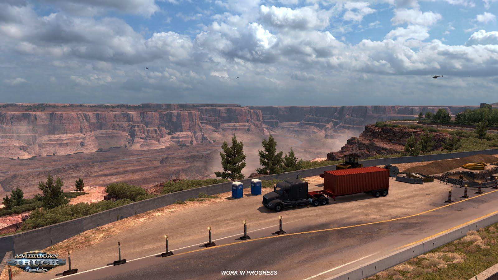 Rozšíření mapy pro American a Euro Truck Simulator 122726