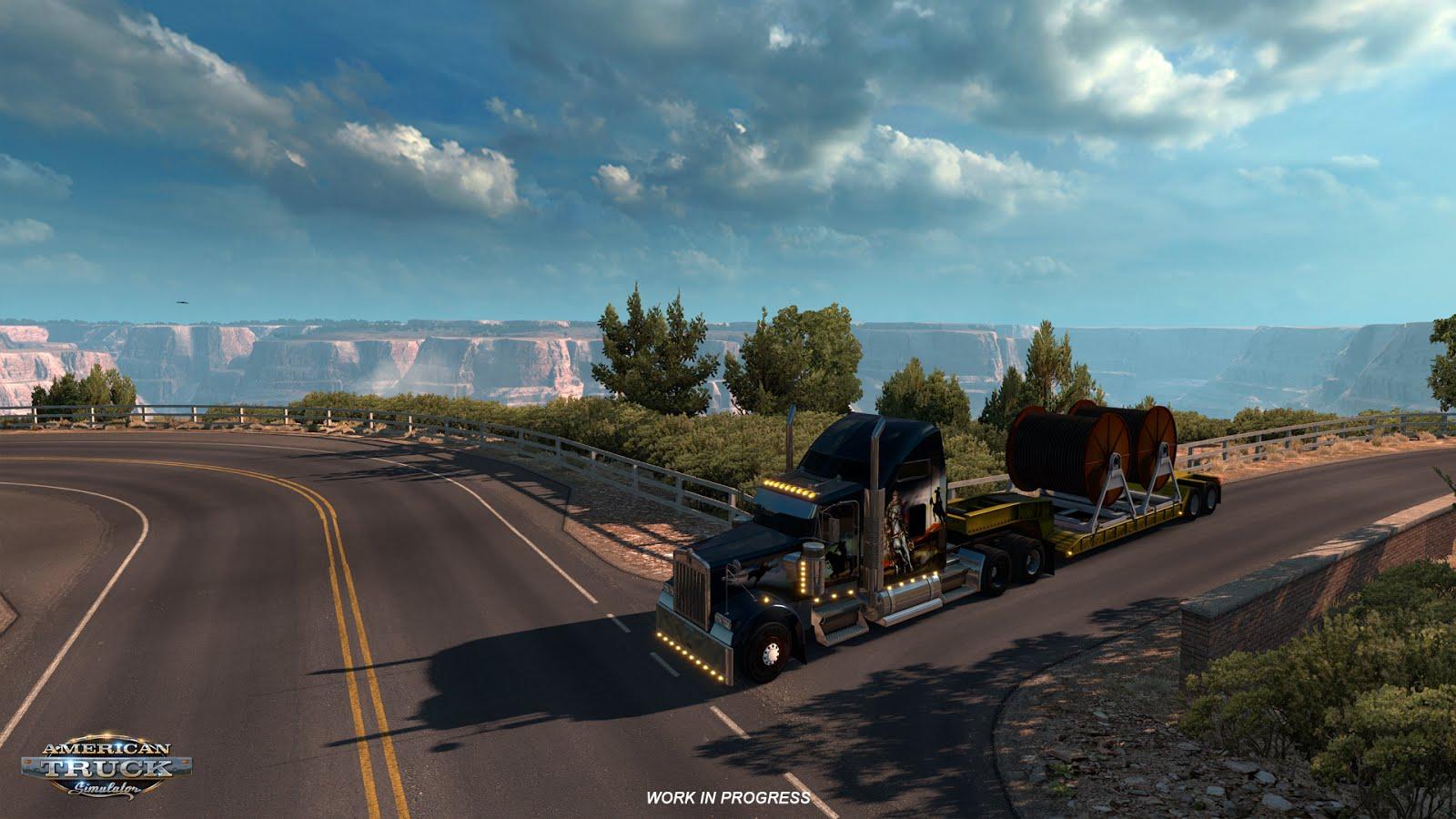 Rozšíření mapy pro American a Euro Truck Simulator 122727