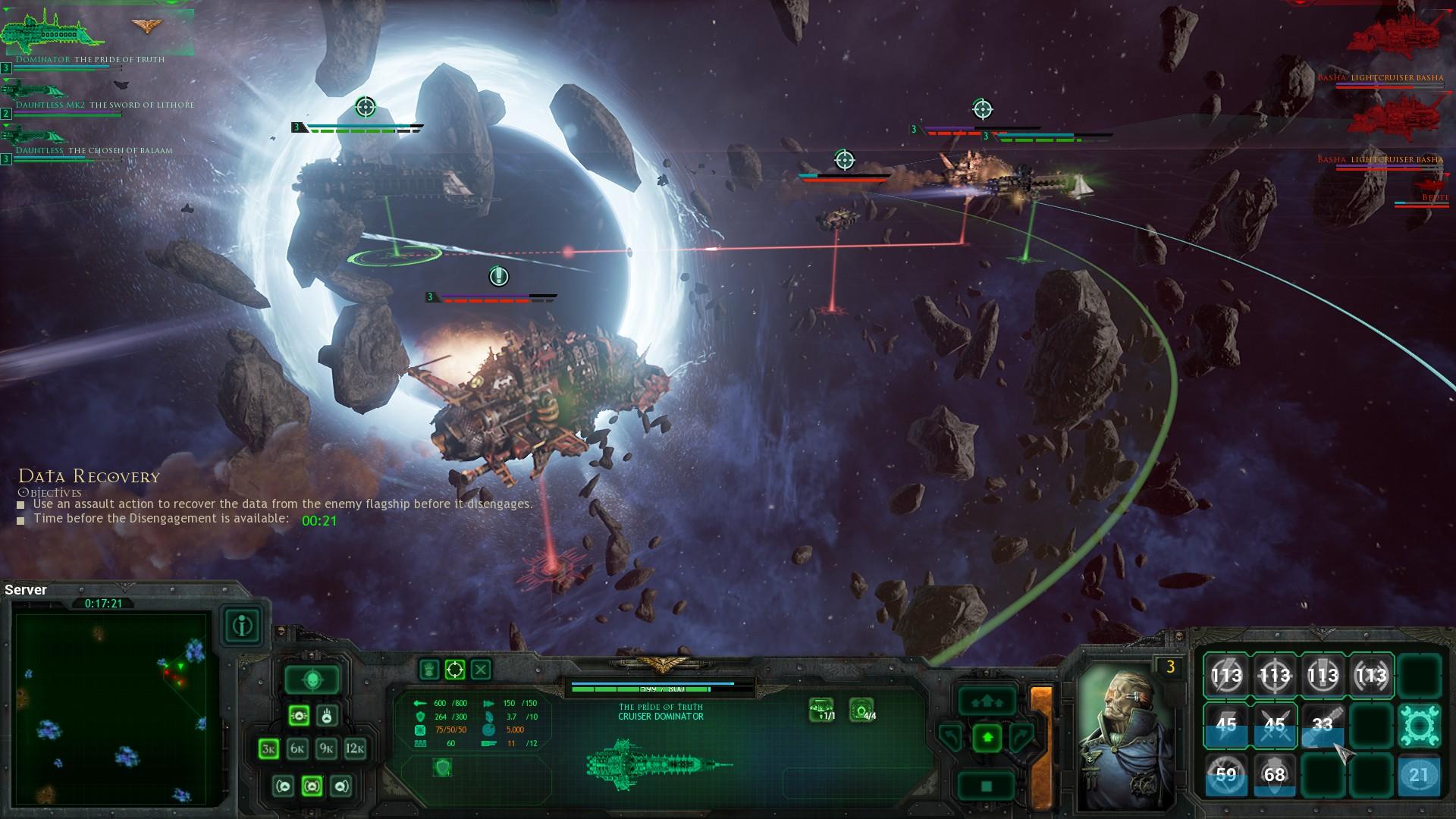Battlefleet Gothic: Armada - vesmírné námořní bitvy 122737