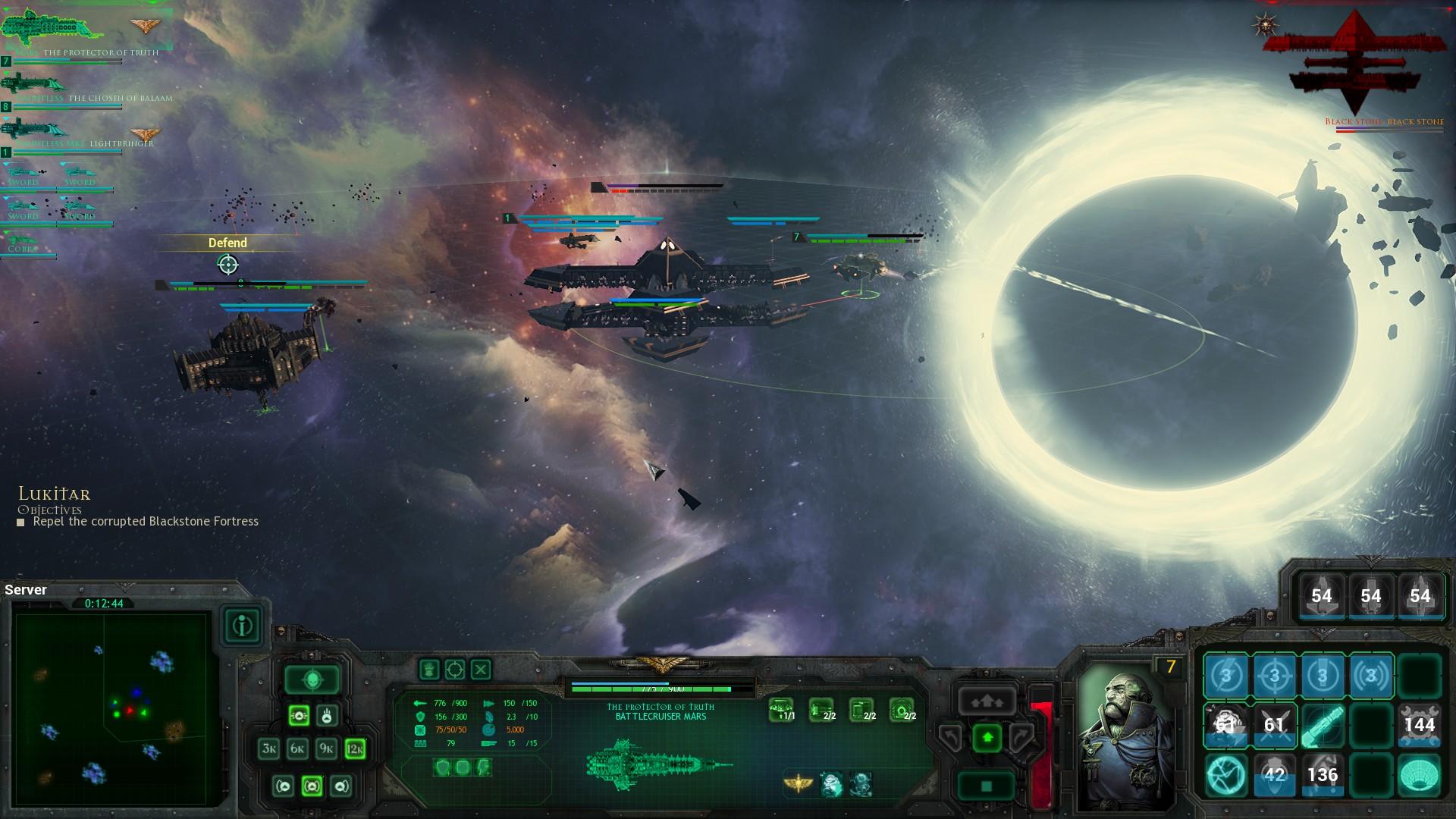 Battlefleet Gothic: Armada - vesmírné námořní bitvy 122752