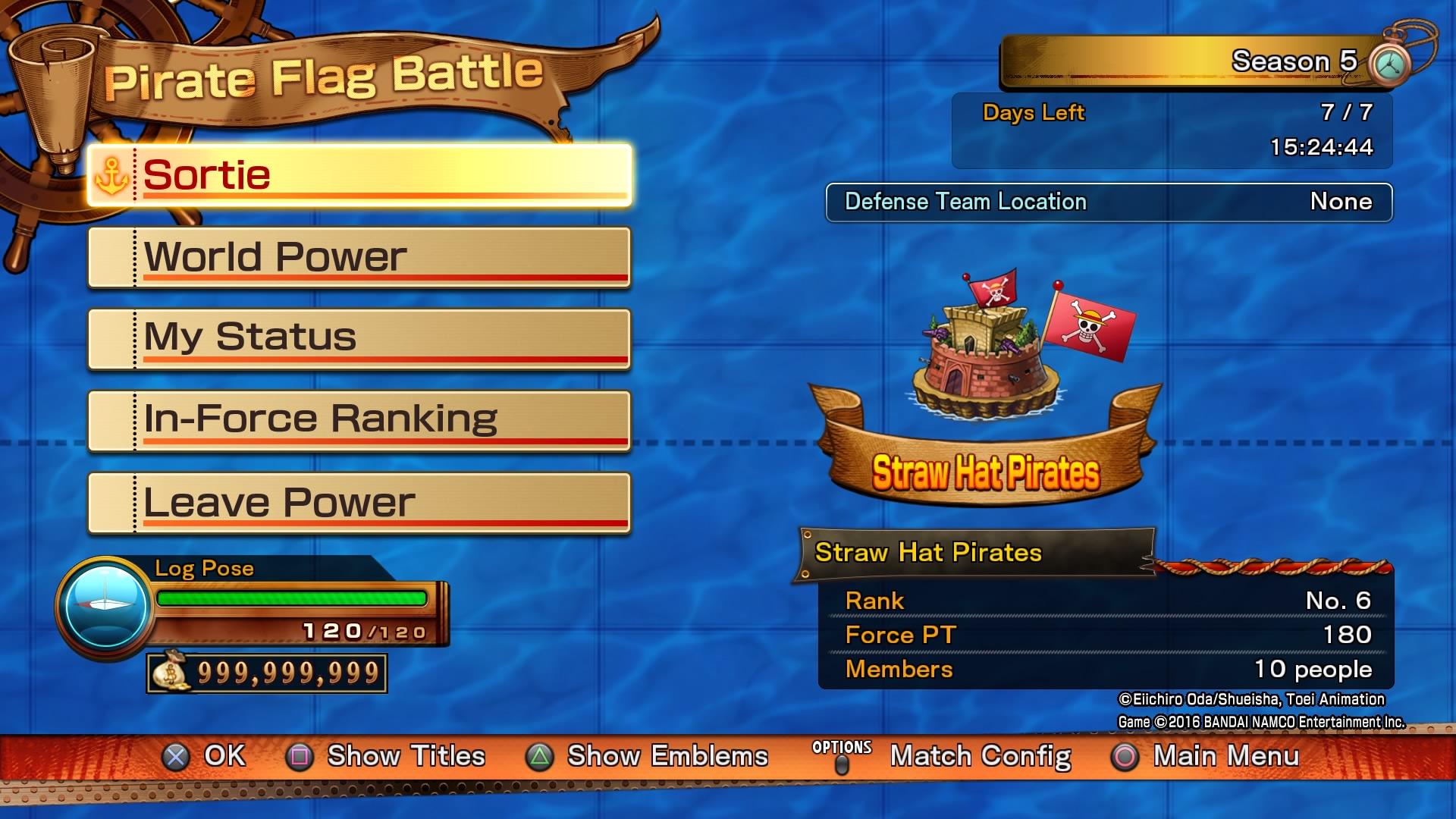 Bonusy za předobjednávku digitálních kopií One Piece: Burning Blood 122798
