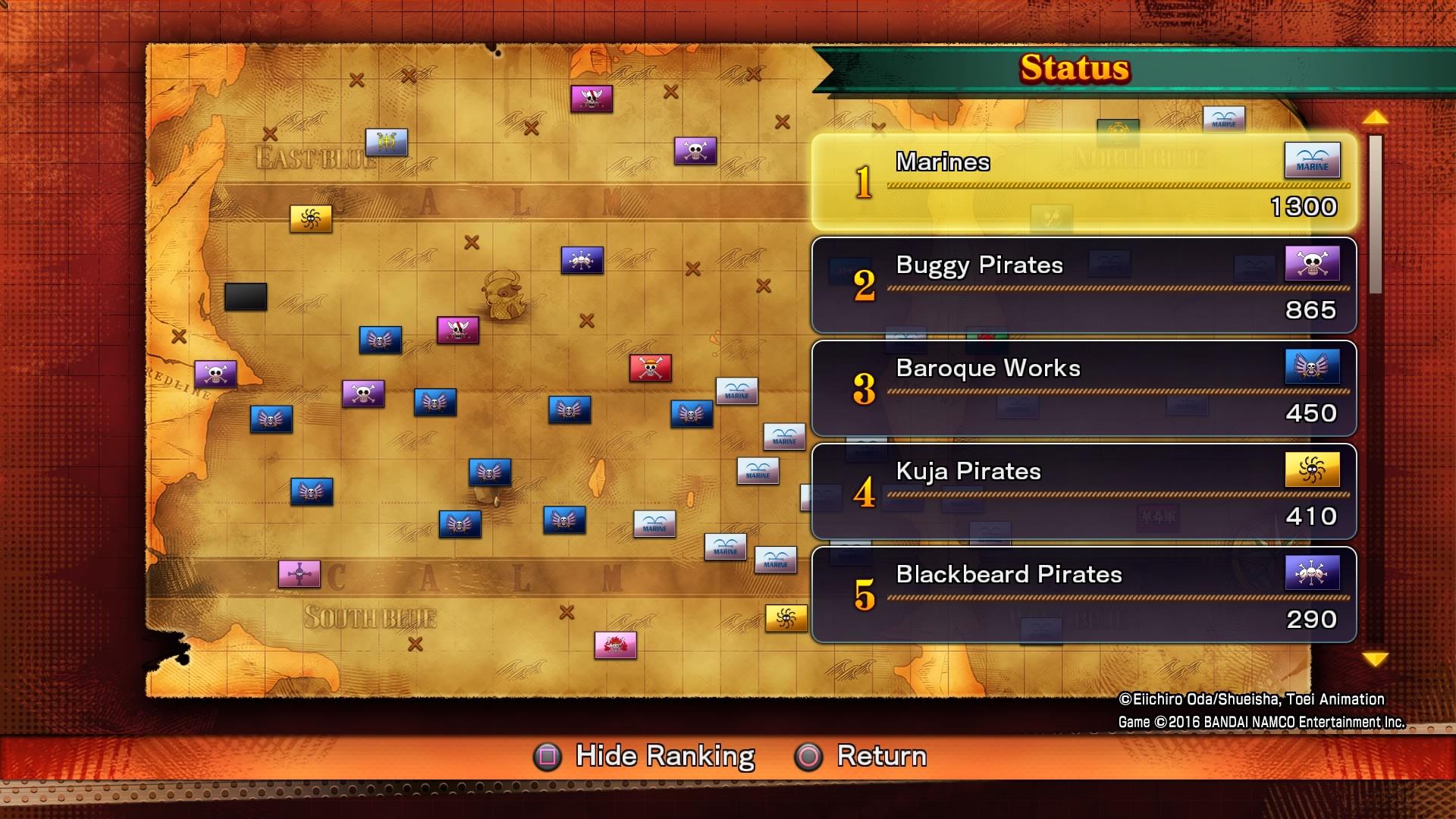 Bonusy za předobjednávku digitálních kopií One Piece: Burning Blood 122799