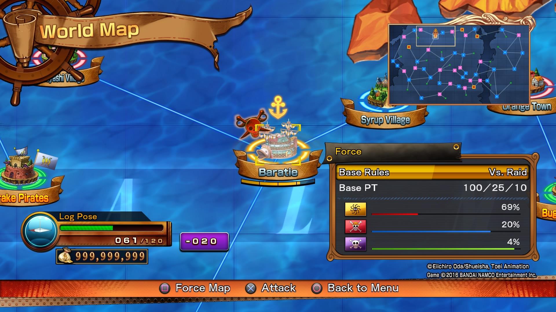 Bonusy za předobjednávku digitálních kopií One Piece: Burning Blood 122800