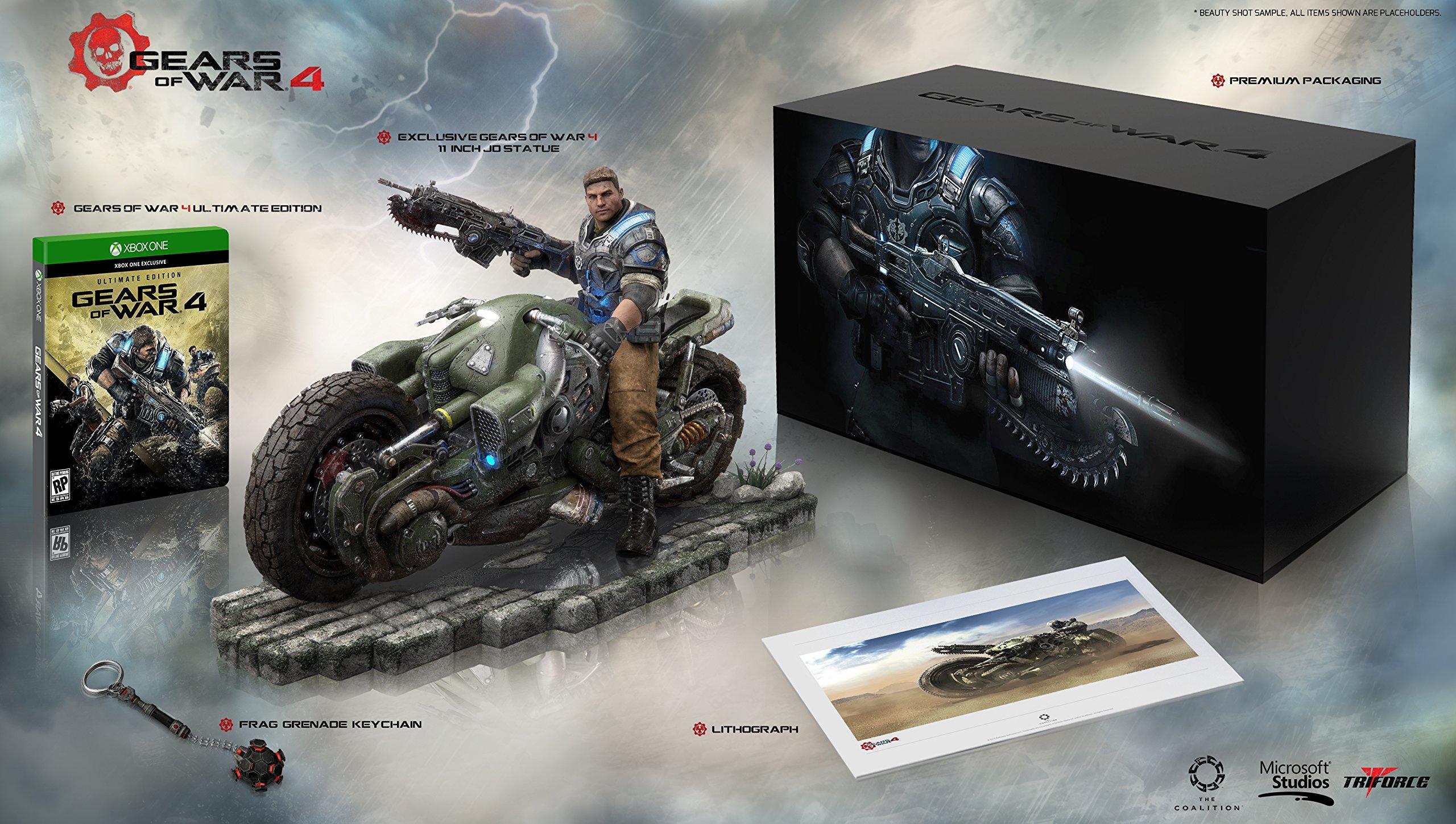 Sběratelská edice Gears of War 4 s Fenixem na motorce 122986