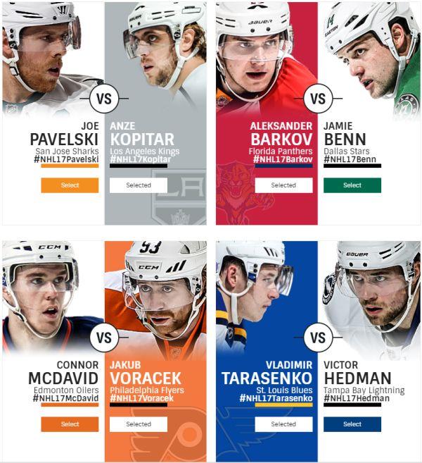 Na krabičce NHL 17 může být Jakub Voráček 123013