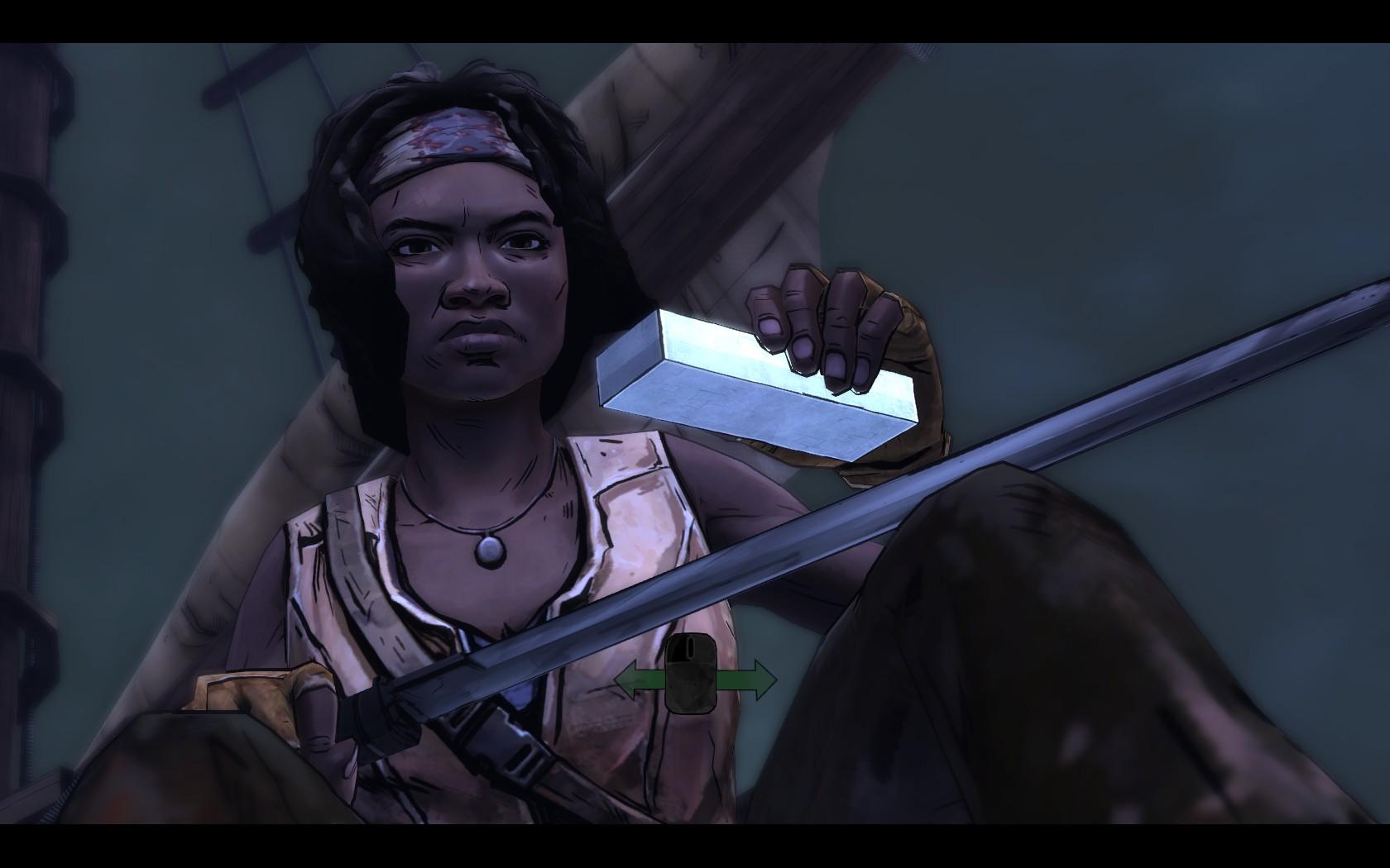 The Walking Dead: Michonne - nastavovaná kaše 123018