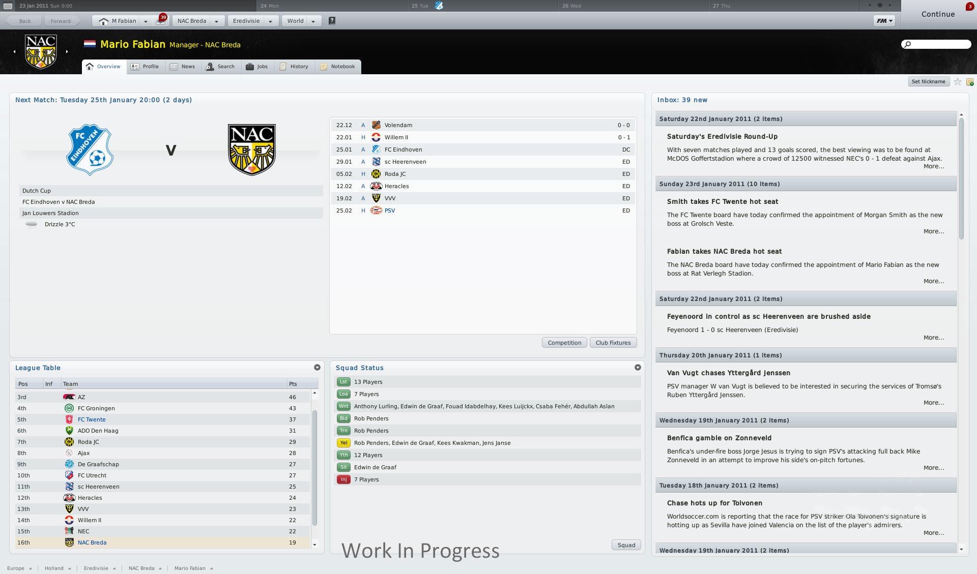Tento týden dva dema Football Manager 2011 12304