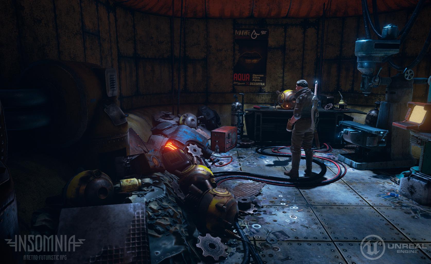 InSomnia přešla na Unreal Engine 4 a potřebuje další peníze 123071