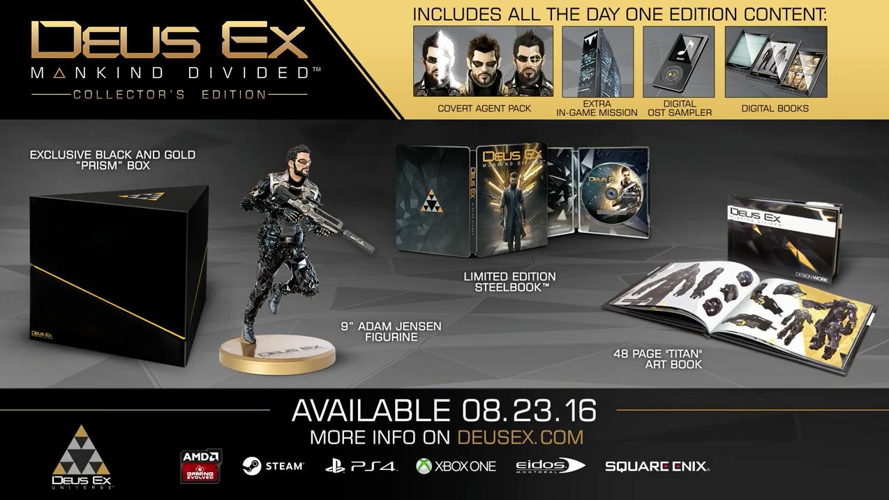 Deus Ex: Mankind Divided v šestiminutovém traileru 123103
