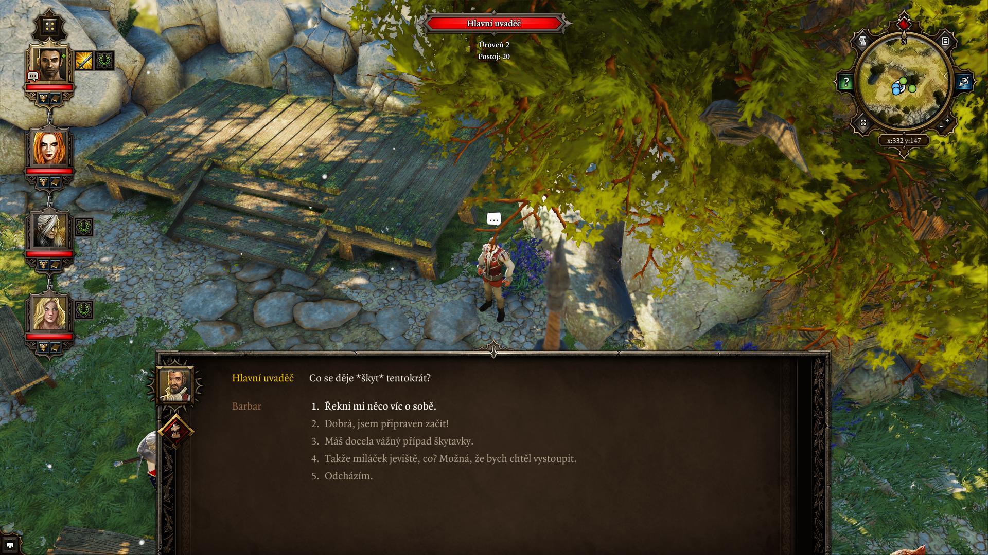 RPG hry Divinity: Original Sin a Pillars of Eternity v češtině 123345