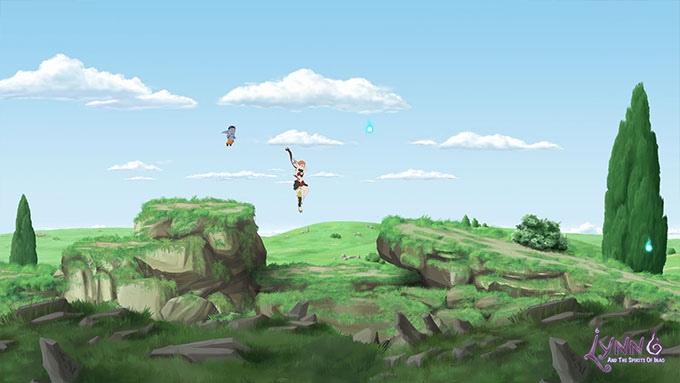 Lynn and the Spirits of Inao je studiem Ghibli inspirovaná plošinovka 123381