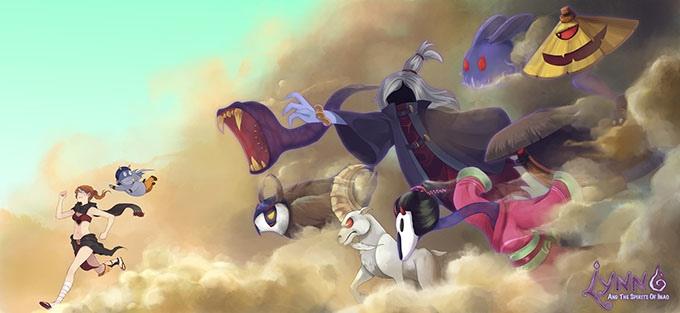 Lynn and the Spirits of Inao je studiem Ghibli inspirovaná plošinovka 123385