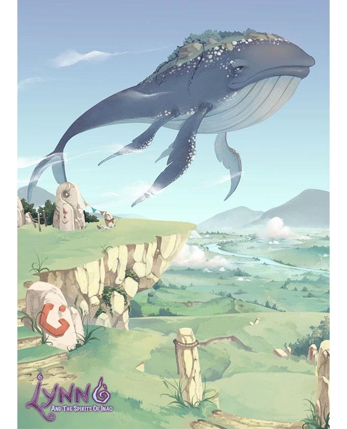Lynn and the Spirits of Inao je studiem Ghibli inspirovaná plošinovka 123386