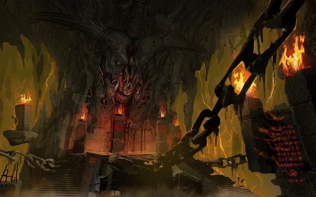 Podívejte se do pekla na artworcích Dooma 123406